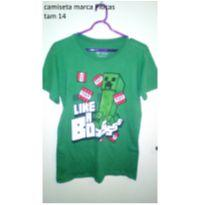 CAMISETA MINI CRAFT - 14 anos - Piticas