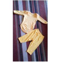 kIT body e calça - 0 a 3 meses - Não informada