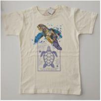 Camiseta Tartaruga - 12 anos - REVERSI