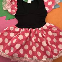 Fantasia Minnie Rosa - 1 ano - Não informada