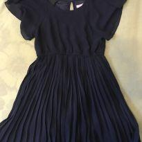 Vestido azul - 5 anos - Hering Kids