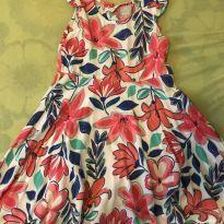Vestido Florido Hering - 5 anos - Hering Kids