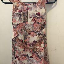 Vestido florido lilica ripilica - 5 anos - Lilica Ripilica