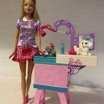 Barbie Quero Ser Cabelereira de Pet Shop -  - Mattel