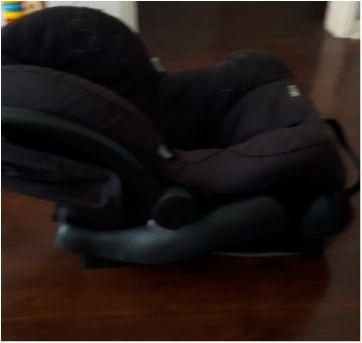 Bebê conforto Maxi Cosi Mico com base - Sem faixa etaria - Maxi Cosi Mico