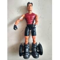 Boneco Max Steel Tornado Bota Mattel -  - Mattel
