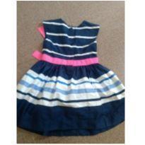 Lindo vestido Carter`s com laço - 3 anos - Carter`s