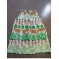 Vestido índios fábula - 4 anos - Fábula