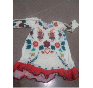 Vestido fábula 4 anos - 4 anos - Fábula