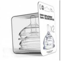 Kit Bico Silicone para mamadeira Comotomo 6 meses -  - Comotomo