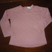 blusa camiseta zara babygirl  18m - 18 a 24 meses - Zara Baby