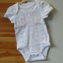 BODY BABYGAP GATINHOS - 3 a 6 meses - Baby Gap