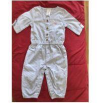 Macaquinho azul Carters - 6 meses - Carter`s