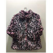 casaco pink de onça!!!! lindo!!! - 7 anos - ME JANE BABY