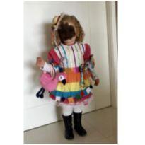 Vestido de festa junina - 2 anos - Feito à mão