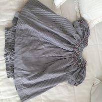 Vestinho algodão paola da vinci - 9 a 12 meses - Paola Da Vinci