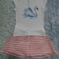 Conjunto Infantil Feminino - 7 anos - Boca Grande