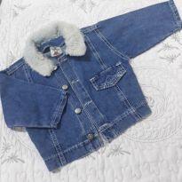 Jaquetinha jeans - 1 ano - nenhuma