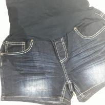 short jeans para gravidas - G - 44 - 46 - nenhuma