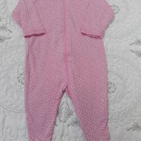 Body rosa bolinha - 3 meses - Gerber