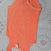 Body regata na cor laranja vidrante - 2 anos - Carter`s