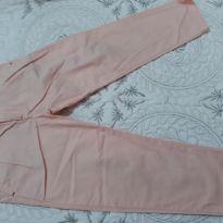 Calça social na cor salmão, com ajuste na cintura por dentro, Zara - 3 anos - Zara