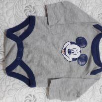 Body manga longa do Mickey - Recém Nascido - Disney baby