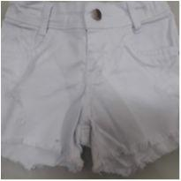 Short jeans branco - 8 anos - Outras