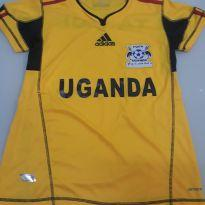 Camiseta oficial Copa do mundo Uganda (Africa) - 12 anos - Adidas