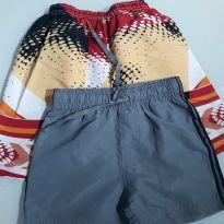 Kit 2 shorts - 24 a 36 meses - Outros