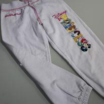 Calça moletom Disney Autenthic (com as princesas bordadas Princess - 4 anos - Disney