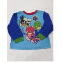 Blusa de pijama Pjmasks - 4 anos - Outros