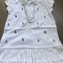 Vestido com babado - 1 ano - Ralph Lauren