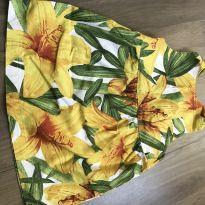 Vestido estampado floral - 12 a 18 meses - Green