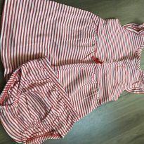 Vestido listrado - 9 meses - Carter`s