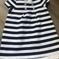 Vestido marinheiro - 12 a 18 meses - Janie and Jack