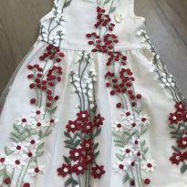 Vestido floral - 1 ano - Milon