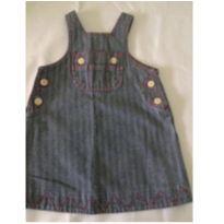 Vestido jeans - 12 a 18 meses - Baby Gap