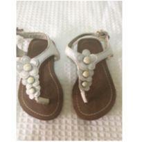 Sandália branca florzinha - 19 - Cherokee