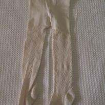 Meia calça bege - 24 a 36 meses - Não informada