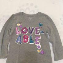 Blusa cinza - 3 anos - Place