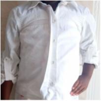 Camisa branca infantil - 8 anos - Figurinha
