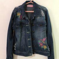 Jaqueta jeans - 8 anos - Figurinha