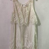 Vestido bordado ZARA - 3 anos - Zara