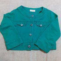 Jaqueta verde green - 24 a 36 meses - Green