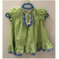 Vestido Florido - 9 a 12 meses - Tip Top