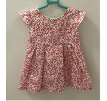 Vestido Coral - 18 a 24 meses - Zara Baby
