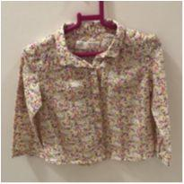 Camisa florida - 12 a 18 meses - Zara Baby