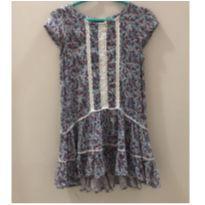 Vestido florzinhas - 3 anos - OshKosh