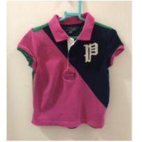 Polo rosa e verde - 4 anos - Ralph Lauren